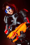 Shepard - Mass effect - Cosplay by CynShenzi