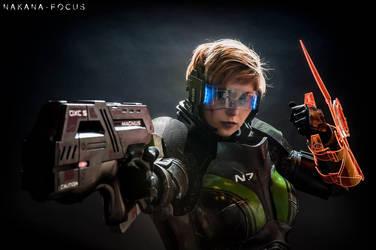Commander Shepard - Mass Effect - Cosplay by CynShenzi