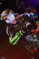 Mass effect - Commander Shepard - Cosplay by CynShenzi