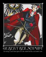 Prussia Motivational Poster by Zaraki333