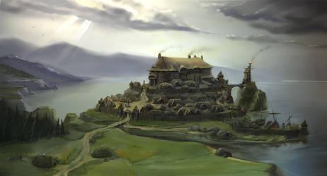 Northern land 4 by Allius