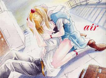 air asuk y shinji by agnesfey