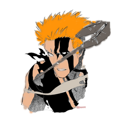 Bleach : Ichigo Transformation by epion93