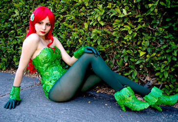 Poison Ivy - Batman: The Animated Series by DollK