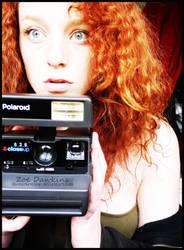 -PolaroidGirl. by TheDarkestBlue