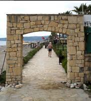 Stone gate or portal by enframed