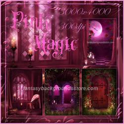 Pink Magic by moonchild-lj-stock