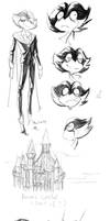 Poptropica Sketchdump by SmileyFaceOrg