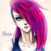 Rogue headshot by AderiAsha
