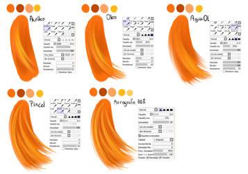 Hair step by step by AderiAsha