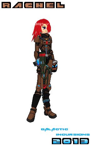 Character Concept Rachel by Luckymarine577