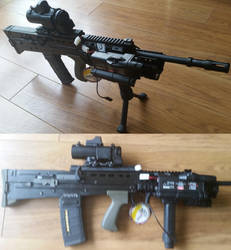 Airsoft L85A2 (Airsoft 2014 Version) by Luckymarine577