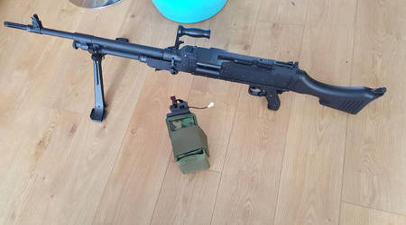 Airsoft L7A2 Gpmg Gimpy by Luckymarine577