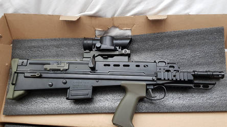 Airsoft Ares L22A2 by Luckymarine577