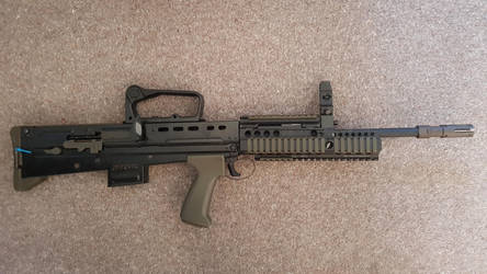 Airsoft G and G L85A2 Iron Sights Config by Luckymarine577