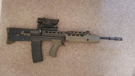 Airsoft G and G L85A2 in 2001 Config by Luckymarine577