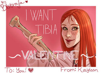 I want to be ya Valentine by Bistraja