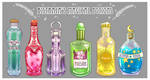 Magical Potions by Bistraja