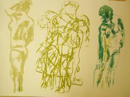 Figure Print 2 by DodosConundrum
