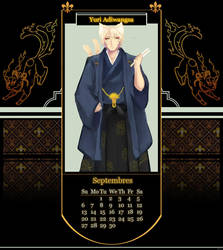 [IAS] September Calendar by sepuluhributiga