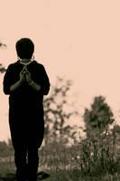 Reverse Namaste by SpellboundMisfits