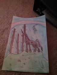 unicorn card by OraSpiritMoon