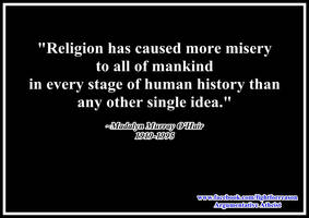 Religion is bad. 2.0 by AAtheist