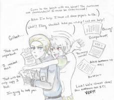Hetalia: Prussia the Helpful by ExclusivelyHetalia