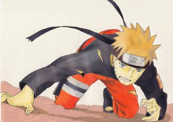 Naruto Colored Pencil by miliboy307