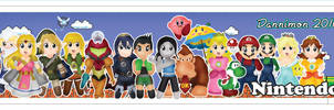Chibi Nintendo Bookmark by DannimonDesigns