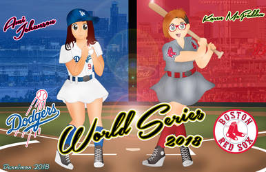 Ami vs Karen World Series 2018 by DannimonDesigns