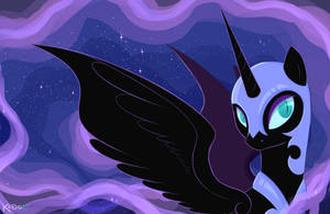 Nightmare Moon by Kodabomb