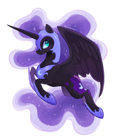 Nightmare Moon by Kodabomb