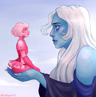 Blue and Pink by Kodabomb