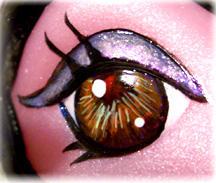 104 of Borg: eye closeup by borgpony