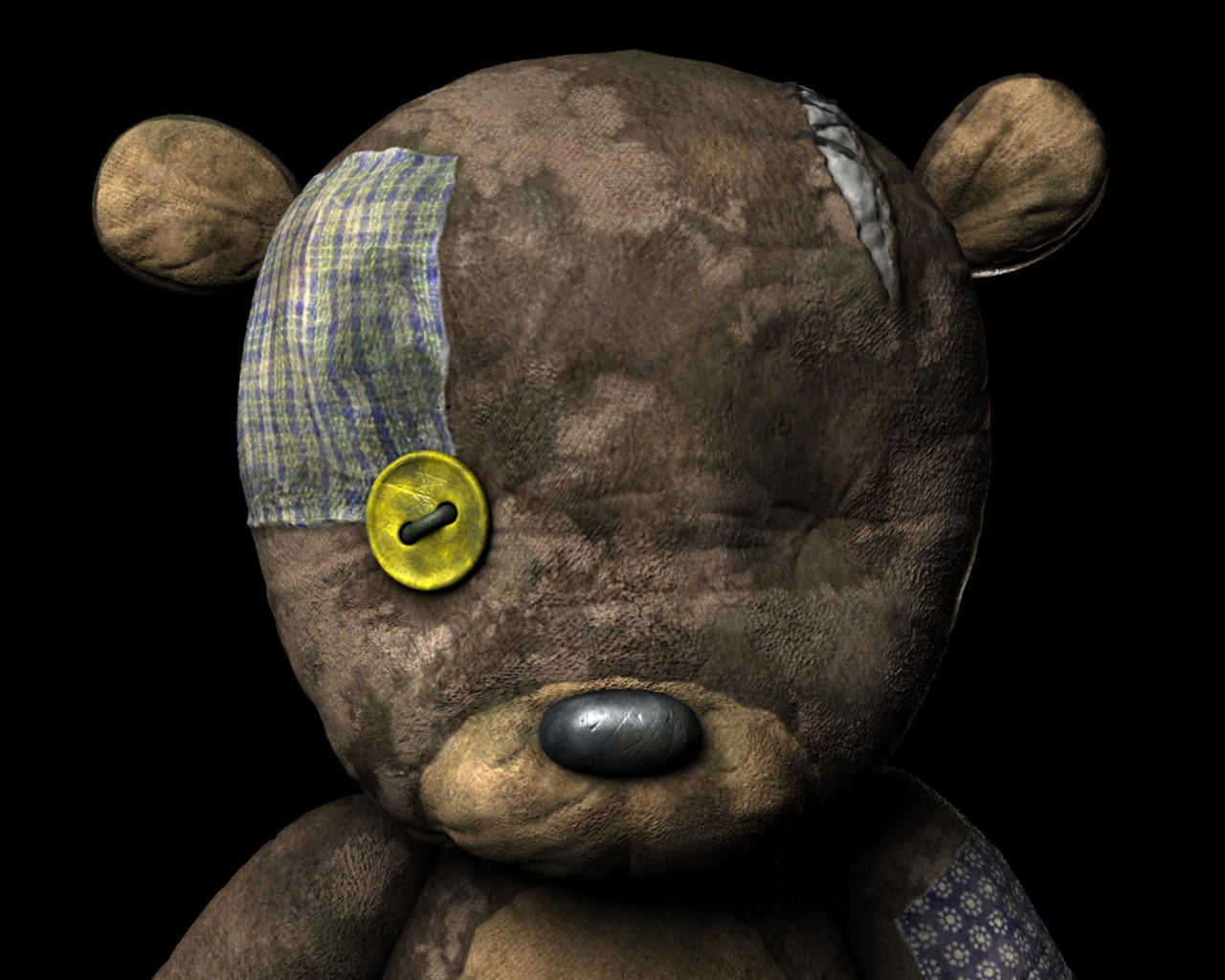 My super Old Bear by mox3d