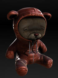 Bear with Bear hoodie by mox3d