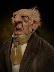 Ugly old man Update by mox3d