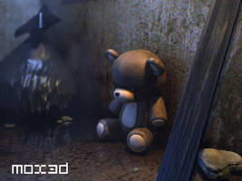 Strange bear by mox3d