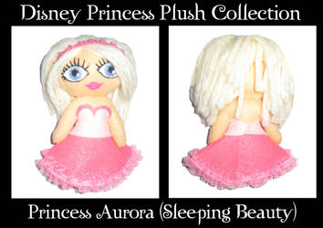 Sleeping Beauty Plush by melancholy-spiders