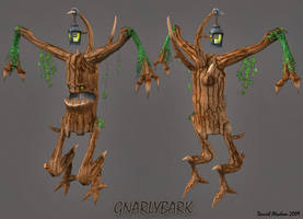 Gnarlybark Finished by Kritter5x