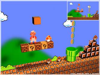 Super Mario Bros 3D by Kritter5x