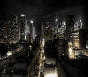 ny the city the fast life by Trane7