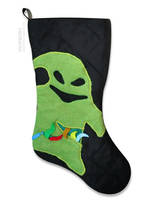 Nightmare Before Christmas - Oogie Boogie Stocking by smashworks