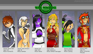 WMT Combatant Lineup by BaGgY666