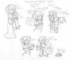 DreSca doodles 01 by BaGgY666