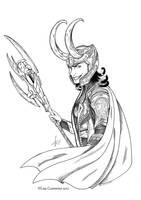 Loki: Dat grin by BaGgY666