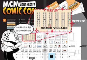 MCM Manchester Comic Con Location by BaGgY666