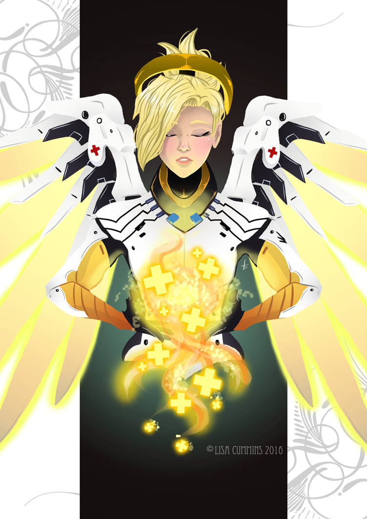 We Are Compassion | Overwatch - Mercy by BaGgY666
