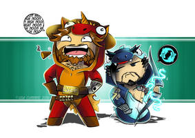 Onesiewatch - McCree + Hanzo by BaGgY666